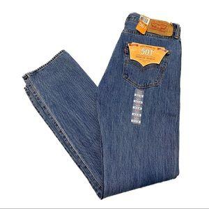 Levi's 501 Classic Regular Fit Denim Jeans 34x36